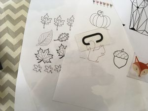 DIY : light box de l'automne