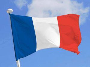 Blériot XI et drapeau français