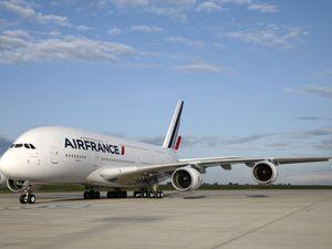 Airbus A380 Air France  (cliquez sur les photos pour les agrandir)