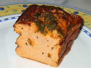Pain de saumon rose sauvage du Pacifique