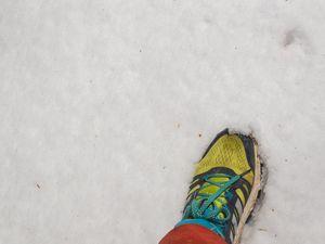 Retour finalement très agréable avec quelques rares sections les pieds dans la neige
