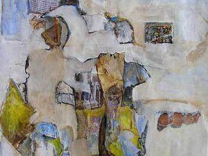 Peintures et collages d'Elisabeth Lesage 2010/2011