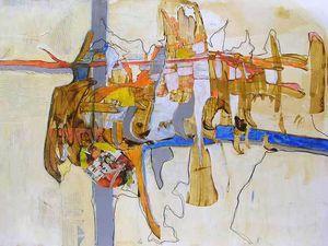 Peintures et collages d'Elisabeth Lesage 2012/2013