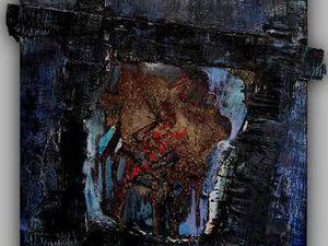 Peintures et collages de Brigitte Balon (Cliquez pour agrandir)