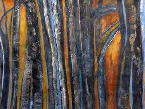 Peintures et collages de Madeleine Gautier-Brun (cliquez pour agrandir)