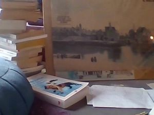 L'œil divin en veille de mon Vermeer