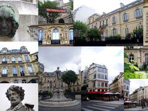 La place Saint-Georges                          Le musée de la Vie Romantique