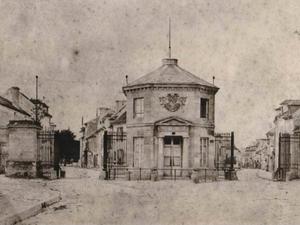Le pavillon d'octroi,1832, Syndicat d'Initiative actuel depuis 1982