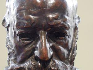 Buste de Vicor Hugo Salle Hugo et Balzac Salle N°9 du Musée Rodin