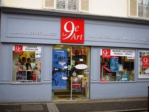 Le 9ème Art à Houilles et sa boutique spécialisée BD