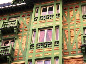 Les immeubles de l'avenue Georges Mandel : un peu de Normandie à Paris !