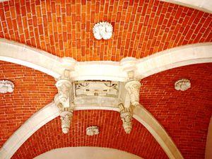 Structures des plafonds du château