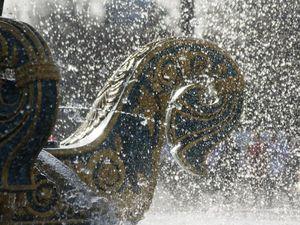 Jeux d'eau de la fontaine