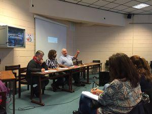 La CGT Groupama organisait une conférence débat avec Gérard Filoche sur les lois Macron et Rebsamen