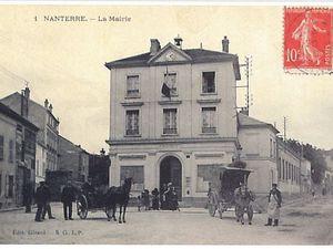 Les mairies de Nanterre avant et maintenant