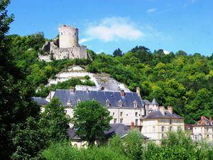 Le château de La Roche-Guyon et son donjon