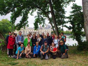 L'étang aux Carpes et le château