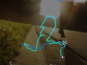 Les circuits de la matinée et de l'après-midi Souces GPS Marc