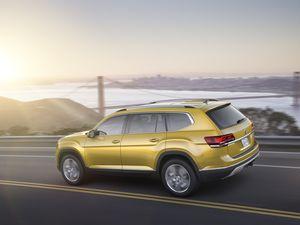 Automobile :  SUV Volkswagen Atlas, poussez vous j'arrive en 2018