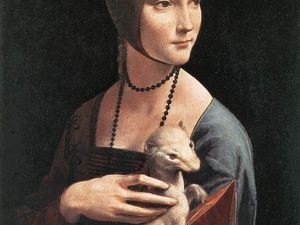 La Dame à l'hermine Musée Czartoryski, Cracovie (Pologne )