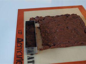 Crémeux craquant façon brownie