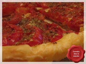 Tarte Tomate - Moutarde