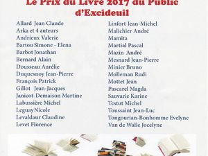 Salon du livre à Excideuil