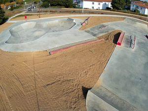 Les skate park du château d'olonne