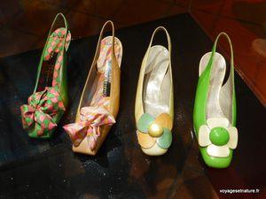 Au musée de la chaussure...