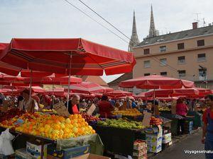 ZAGREB, capitale de la Croatie