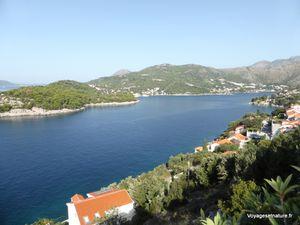 Les côtes de Dalmatie du sud