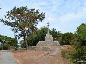 Randonnée dans le nord de l'île aux moines