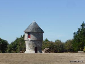 Moulins de Drezeux et de la falaise vers Mesquer