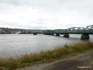 La rivière Saguenay à Chicoutimi