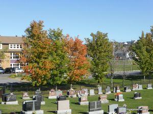 Eglise et cimetière de St-Fabien