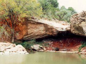 """""""Red Creek"""" (Ruisseau Rouge), Texas"""