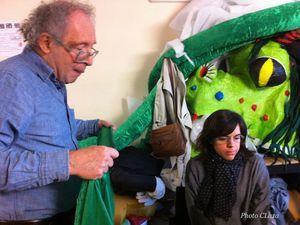 Txipiron, le calamar géant, prêt pour le Carnaval de Paris