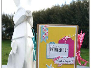Atelier Kippers d'avril : &quot&#x3B;C'est Pâques&quot&#x3B; !