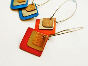 © ROSE BOUCHON : bijoux bois et laiton