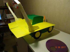 La tondeuse volante, pour l'indoor