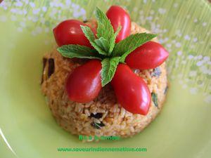 Riz au yaourt épicé