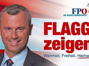Alexander Van der Bellen - nouveau président fédéral de l'Autriche - et Norbert Hofer, candidat du FPÖ