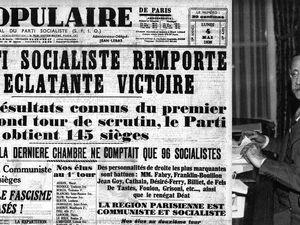 Front Populaire : campagne et victoire électorales