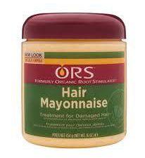 Masque SOS conditionneur Blue Green Algaé     VS     ORS Hair Mayonnaise