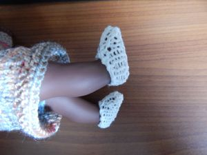 chaussures corolline tricot