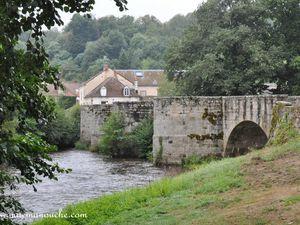 Le pont romain de Moutier d'Ahun.