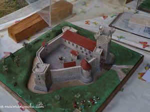 Maquette du château.