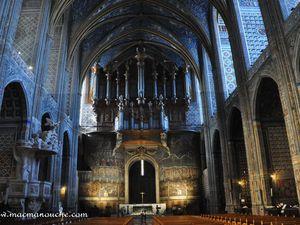 Petite visite de l'intérieur de la cathédrale.