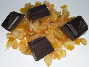 Cookies moelleux aux Orangeats