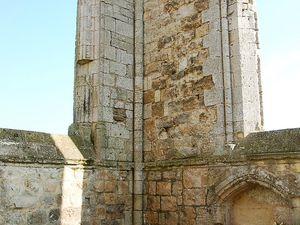 Hier à la Flotte (île de Ré) Abbaye des Chateliers. Photos JLA